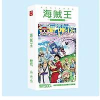 Postcard One Piece Đảo Hải tặc 30 tấm bưu thiếp + 30 tấm lomo tặng vòng tay chỉ đỏ may mắn