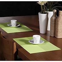 Tấm lót bàn ăn cao cấp NX105 xanh cốm