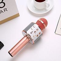 Micro karaoke bluetooth WS-858 không dây chất lượng cao kèm tính năng nổi bật