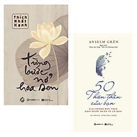 Combo 2 Cuốn Sách Nên Đọc khi Bạn Cảm Thấy Lạc Lối: Từng Bước Nở Hoa Sen, 50 Thiên Thần Của Bạn
