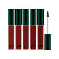 Set 5 Cây son kem lì BBia Last Velvet Lip Tint Asia Edition (5 cây x 5g)