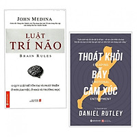 Combo 2 Cuốn Kỹ Năng Sống Đẹp:  Luật Trí Não (Tái Bản 2018) +  Thoát Khỏi Bẫy Cảm Xúc (Tặng kèm bookmark)