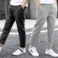 quần baggy nam dài ống côn chất đũi mềm mại nhiều màu