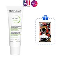 Kem dưỡng ẩm cho da dễ lên mụn Bioderma sebium hydra 40ml TẶNG mặt nạ Sexylook (Nhập khẩu)