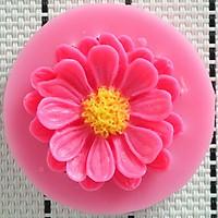 Khuôn rau câu silicon hoa cúc đơn