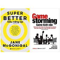 Combo Sách : Siêu Năng Lực + Game Kích Não (Gamestorming) - Cuốn Sách Chiến Thuật Cho Những Người Ưa Sáng Tạo, Thích Phá Vỡ Quy Tắc Và Luôn Tìm Kiếm Sự Thay Đổi