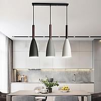 Đèn thả bàn ăn, phòng khách OSIAC 3 bóng ngang cao cấp kèm bóng LED chuyên dụng