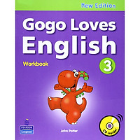 Gogo Loves English 3 : Workbook with CD (New Edition)
