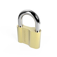 Ổ khóa cửa treo Huy Hoàng đồng vàng 5P KTCHC8 / 6P KTCHC10 - Khóa móc Con Voi làm bằng đồng thau màu vàng, cầu khóa làm bằng thép mạ phủ Ni & Cr - Khóa treo chìa (khi khóa cần chìa)