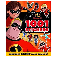 Disney Pixar - Incredibles 2: 1001 Stickers (1001 Stickers Disney)