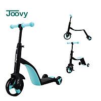 Siêu xe biến hình Scooter, chòi chân, cân bằng 3 trong 1 cho bé từ 1 tới 6 tuổi Nadle TF3 Joovy CHÍNH HÃNG