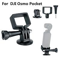 Für DJI OSMO Pocket Schwebestative Handheld Mount Holder Halterung Klammer ULANZI OP-3 DJI Osmo Pocket Extension Fixed Stand Holder with GoPro Adapter for Tripods, for DJI Osmo Pocket Gimbal Accessories