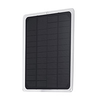 DC12V 10W Solar Panel with USB Port Car Chargers Charge for 12V-Battery Portable Completed Accessories for Outdoor