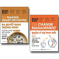 Combo HBR On Making Smart Decisions + HBR On Change Management (Bộ 2 Cuốn)