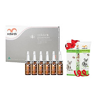 [MUA 1 TẶNG 1] Serum tế bào gốc Nhau thai cừu và Nọc ong Rebirth Tặng Sữa rửa mặt tràm trà và trà trắng Rebirth