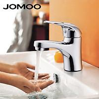 Vòi Lavabo nóng lạnh Đồng mạ Chrome 【JOMOO】3289-050/1C2-I011 (Trắng bạc)
