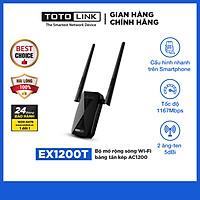 TOTOLINK EX1200T - Bộ mở rộng sóng Wi-Fi băng tần kép AC1200 - Hàng chính hãng