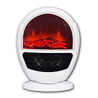 Máy sưởi ấm kèm màn hình 3D GH-906 làm ấm và thổi gió 1500W để bàn sang trọng