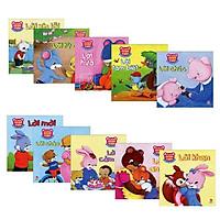 Bộ 10 cuốn Kỹ năng giao tiếp cho bé 2-6 tuổi (bọc màng co)