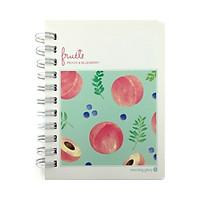 Sổ Ghi Nhớ Fruit Morning Glory 81747 - Peach & Blueberry