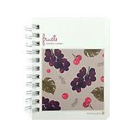 Sổ Ghi Nhớ Fruit Morning Glory 81747 - Grape & Cherry
