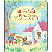 Sách tiếng Anh - Usborne All You Need To Know Before You Start School
