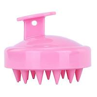 Scalp Massager Hair Shampoo Brush Soft Silicone Head Massager Comb Hair Scalp Massaging Shampoo Brush Scalp Scrubber