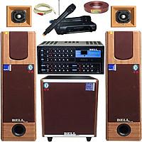 Dàn nhạc và karaoke gia đình KMS 1506 Tích hợp Bluetooth BellPlus (hàng chính hãng)