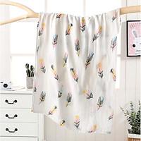 Khăn tắm cho bé (Size lớn) khăn sợi tre kháng khuẩn mềm mại, họa tiết đáng yêu cho bé (Nhiều họa tiết)