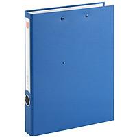 Comix NO.336 Cardboard Folder/A4 Folder/2 Hole D-Clip + Plate Clip Blue
