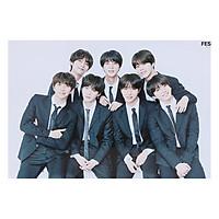 Bộ Poster Ban Nhạc BTS Có Dán