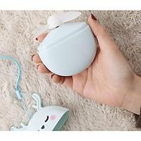 Quạt Thỏ Mini Cầm Tay Sạc USB