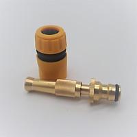 Vòi xịt nước tưới cây, rửa xe VPD-2033, Vòi đồng VOI-6 + Đầu nối nhanh 12-16 mm 206587+622