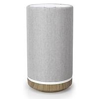 Loa Bluetooth KNIT TIMPANI (Designed in Los Angeles) - Loa Thương Hiệu Mỹ - 20W Âm Thanh Nổi, Loa Rất Sang Trọng Vải Dệt Xám Gỗ 2020