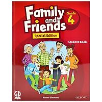 Family And Friends Special Edition 4 - Student Book (Dành Cho HS Học Từ Lớp 3) - Kèm 2 Đĩa CD