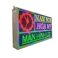 Biển quảng cáo màn hình LED thông minh HIKARU  Ful màu, 1 mặt hiển thị, KT cao 520 x rộng 1000