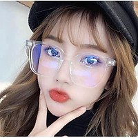 Mắt kính thời trang nam nữ kính thời trang hàn quốc unisex gọng vuông KM18