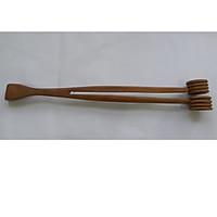 Cây gãi và đấm lưng bằng gỗ bách xanh hai đầu