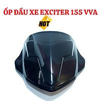 Ốp Đầu Cho Xe Máy Exciter 2021, Exciter 155 VAA Màu Đen Bóng