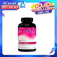 Thực phẩm chức năng bảo vệ sức khỏe Viên uống bổ sung Collagen Type 1-3 NeoCell Super Collagen +C 6000mg Type 1-3 (250 viên)