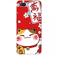 Ốp lưng dành cho điện thoại OPPO REALME 2 PRO Mèo Thần Tài Mẫu 2