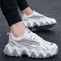 Giày nam, giày sneaker thể thao nam đế độn tăng chiều cao 5cm, phản quang  QA345