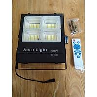 Đèn LED Pha Năng Lượng Mặt Trời 60W dành cho nhà ở
