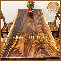 Bộ bàn ăn full gỗ Me Tây KL20018