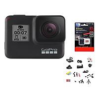 Combo GoPro Hero 7 Black + Thẻ Nhớ 64GB Quay 4K + Bộ Full 20 Loại Phụ Kiện - Hàng Chính Hãng