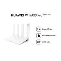 Bộ định tuyến HUAWEI WiFi AX3 Pro (CPU 4 nhân) | 3000 Mbps | Huawei Share | Huawei HomeSecTM | Hàng Phân Phối Chính Hãng