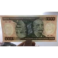 Tiền cổ Brazil 1000 Cruzeiros sưu tầm
