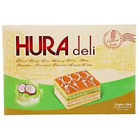 [Chỉ Giao HCM] - Big C - Bánh Hura Deli Cơm Dừa 336g  - 02322