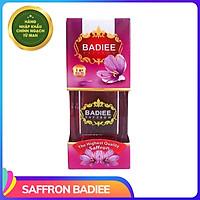 Nhụy Hoa Nghệ Tây Saffron Chính Ngạch Iran, loại super negin hộp 1gram thương hiệu Badiee giúp đẹp da, ngủ ngon, tốt cho tim mạch - Hàng chính hãng