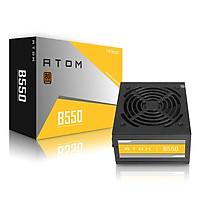 Nguồn máy tính Antec ATOM B550 (Công suất thực 550W) - Hàng chính hãng